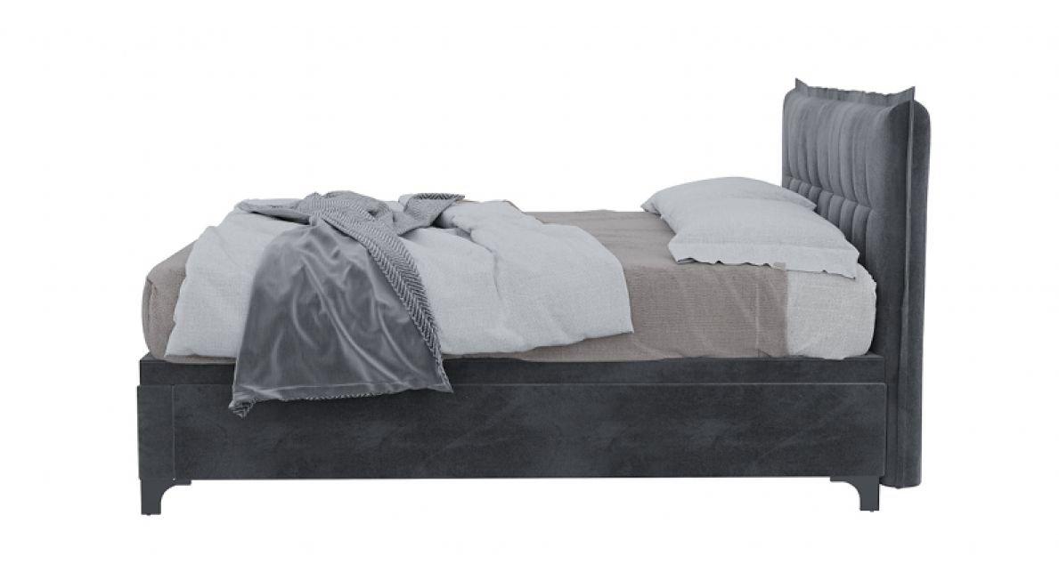 מיטה זוגית דגם Lotus עם ארגז מצעים סילי