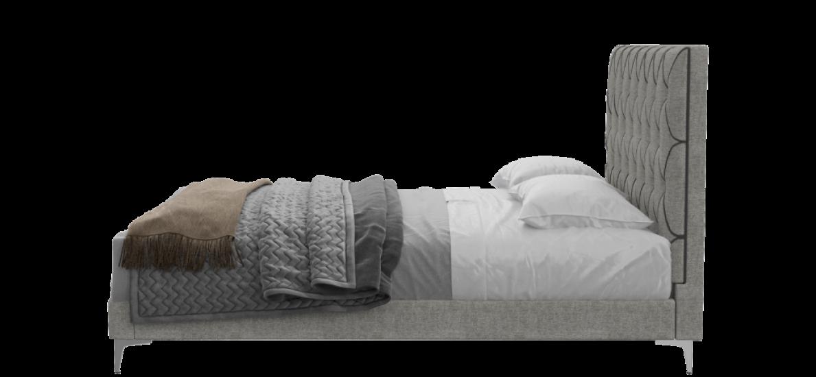 מיטה זוגית Dallas עם מזרן Response