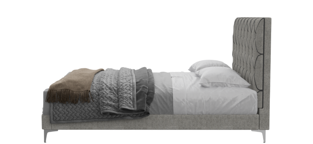 מיטה זוגית Dallas עם מזרן Ritz